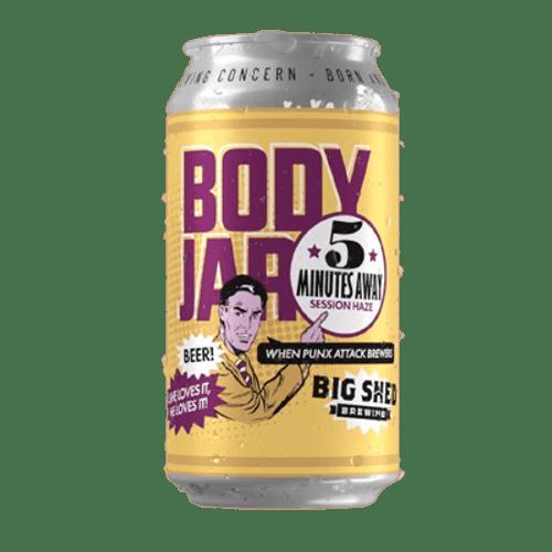 Big Shed/Body Jar 5 Minutes Away Hazy Pale Ale 375ml Can