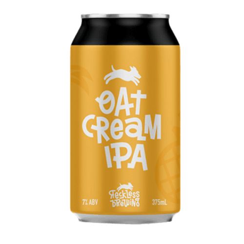 Reckless Oat Cream IPA 375ml Can