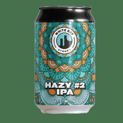 White Bay Hazy IPA #2 355ml Can