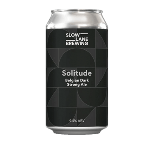 Slow Lane Solitude Belgian Dark Strong Ale 375ml Can