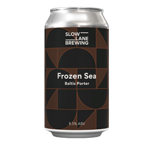 Slow Lane Frozen Sea Baltic Porter 375ml Can
