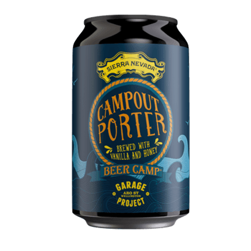 Garage Project Campout Porter Vanilla and Honey Porter 330ml Can