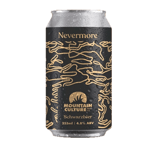 Mountain Culture Nevermore Schwarzbier 355ml Can
