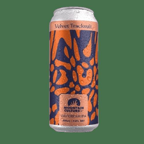 Mountain Culture Velvet Tracksuit Oat Cream IPA 500ml Can