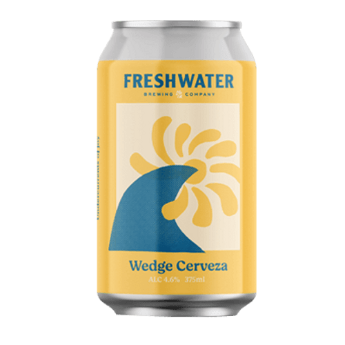 Freshwater Wedge Cerveza Lager 375ml Can