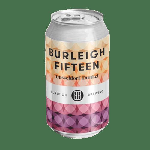 Burleigh Fifteen Dusseldorf Smoked Dunkel 375ml Can