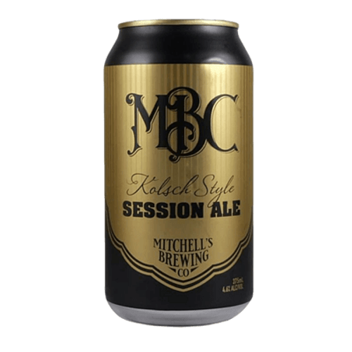 Mitchell's Kolsch Style Session Ale 375ml Can