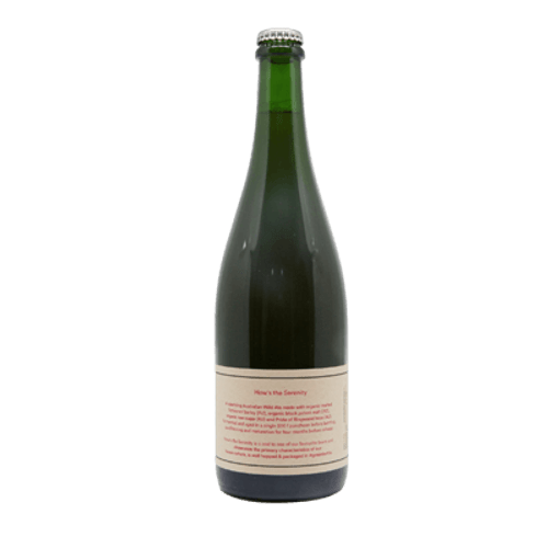 Wildflower How's the Serenity Australian Wild Ale 750ml Bottle