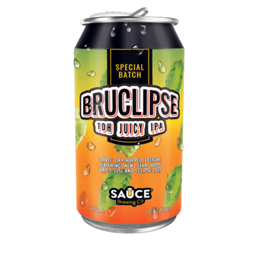 Sauce Bruclipse Juicy IPA 375ml Can