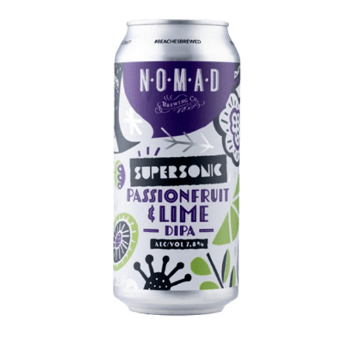 Nomad Supersonic Passionfruit & Lime Imperial IPA 440ml Can