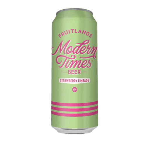 Modern Times Fruitlands Strawberry Limeade Sour Ale 568ml Can
