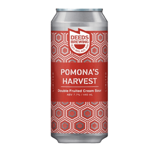 Deeds Pomona's Harvest Double Fruited Cream Sour Ale 400ml Can