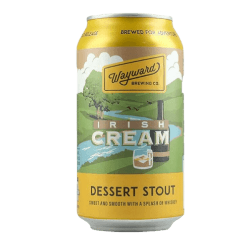 Wayward Irish Cream Dessert Stout 375ml Can