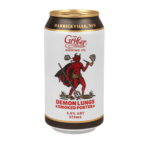 Grifter Demon Lungs Smoked Porter 375ml Can