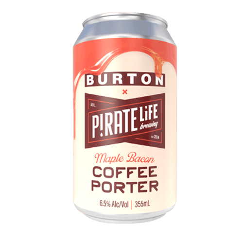 Pirate Life Maple Bean Coffee Porter 355ml Can