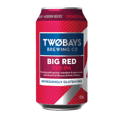 Two Bays Big Red IPA 375ml Can