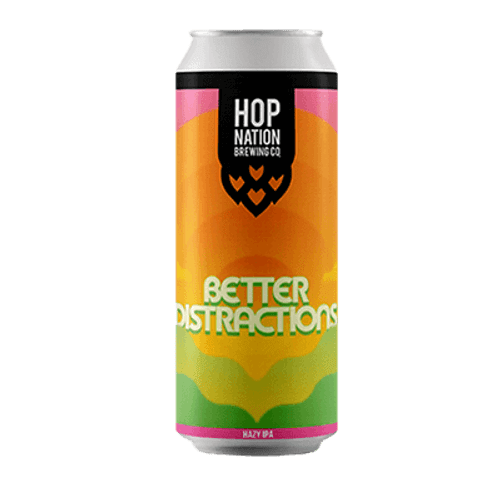 Hop Nation Better Distractions Hazy IPA 440ml Can