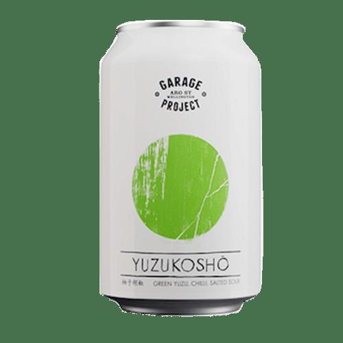 Garage Project Yuzukosho Green Yuzu & Chilli Salted Sour 330ml Can