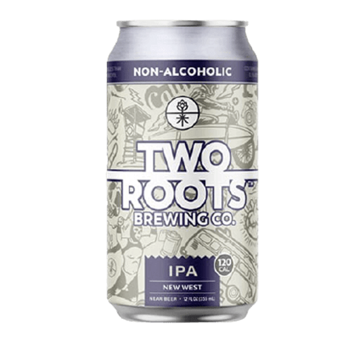 Two Roots New West IPA Non Alcoholic 355ml Can