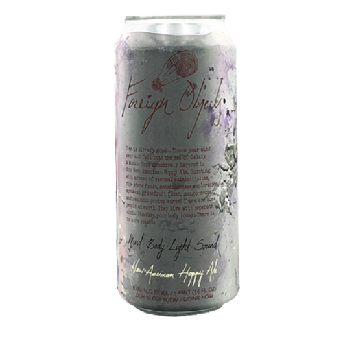 Foreign Object Mind Body NEIPA 473ml Can