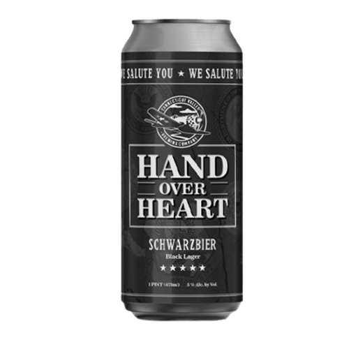 Connecticut Valley Hand Over Heart Schwarzbier 473ml Can