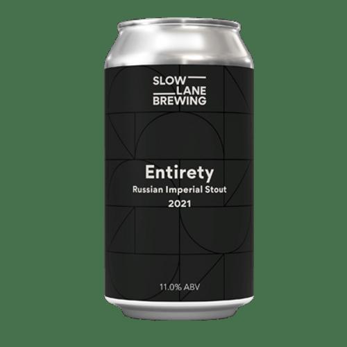 Slow Lane Entirety Imperial Stout 375ml Can