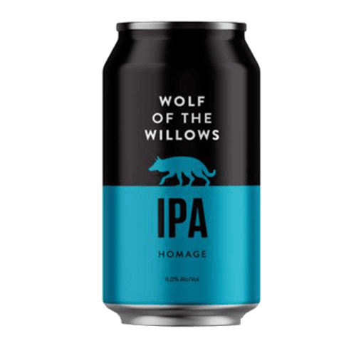 Wolf of The Willows Homage IPA 355ml Can