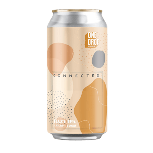 One Drop Connected Hazy IPA 440ml Can