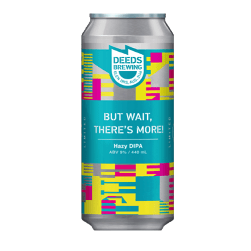 Deeds But Wait, There's More Hazy DIPA 440ml Can