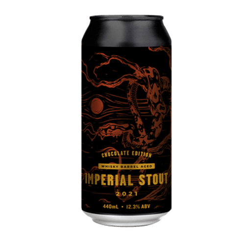 Hawkers Whiskey Barrel Aged Imperial Stout 2021 Chocolate Edition