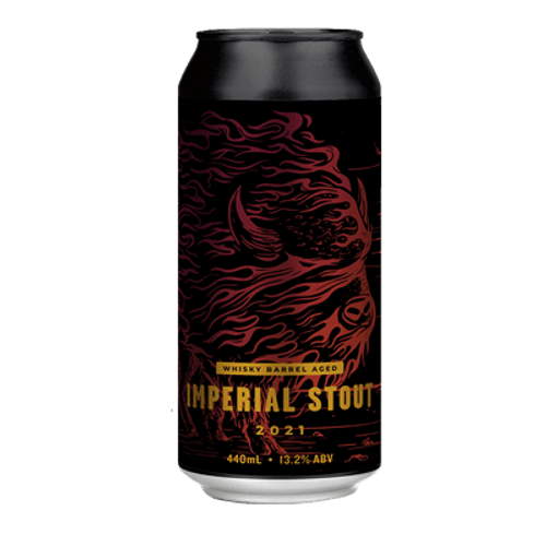 Hawkers Whiskey Barrel Aged Imperial Stout 2021
