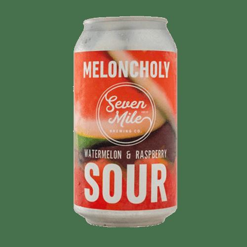 Seven Mile Meloncholy Watermelon & Raspberry Sour Ale 375ml Can