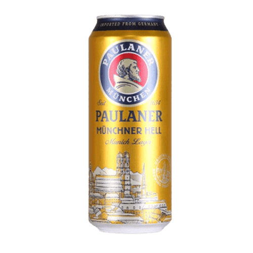 Paulaner Munich Hell Lager 500ml Can