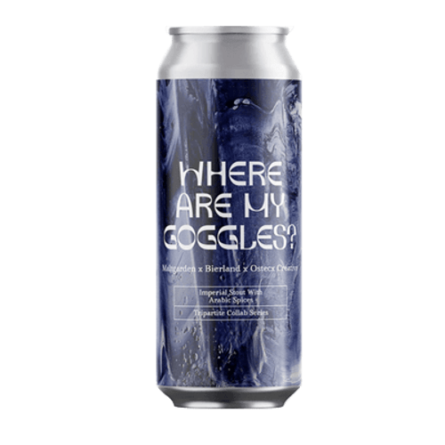 Maltgarden Where Are My Goggles? Imperial Stout 500ml Can