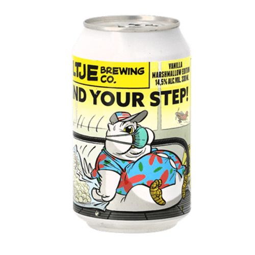 Uiltje Mind Your Step Vanilla Marshmallow Edition Imperial Stout 330ml Can