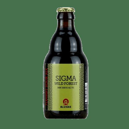 Alvinne Sigma Wild Forest Dark Sour Ale 330ml Bottle