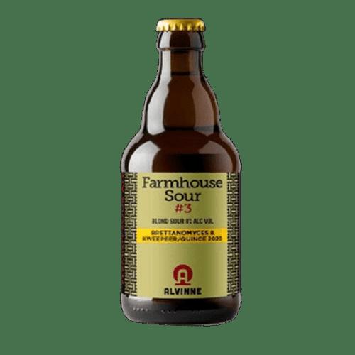 Alvinne Farmhouse Sour #3; Brett Kweeper/Quince 2020 330ml Bottle