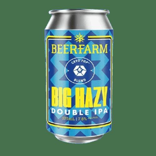 Beerfarm Big Hazy Double Hazy IPA 375ml Can
