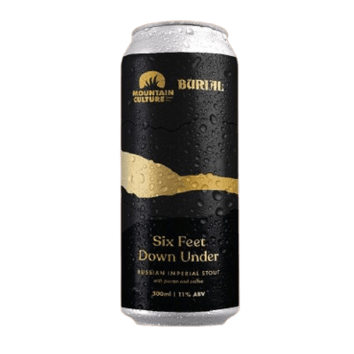 Mountain Culture Six Feet Under Imperial Stout 500ml Can