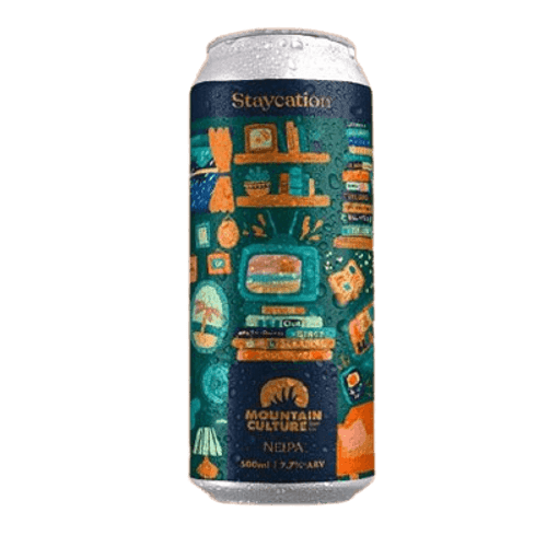 Mountain Culture Staycation NEIPA 500ml Can