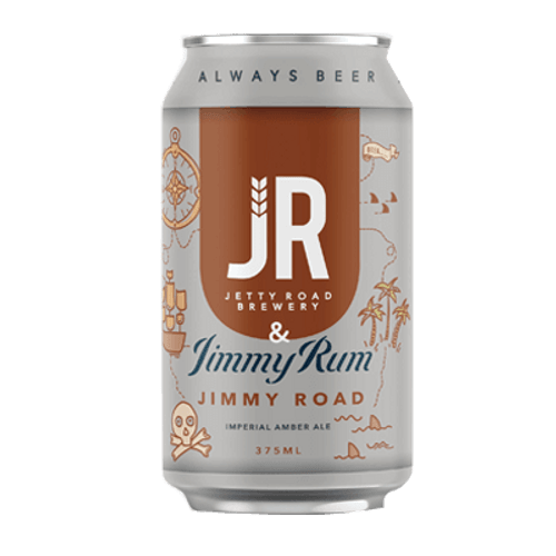 Jetty Road Jimmy Rum Jimmy Road Imperial Amber Ale 375ml Can