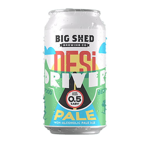 Big Shed Desi Driver Non Alcoholic Pale Ale 375ml Can