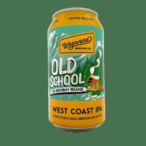 Wayward Old School 6th Birthday Release West Coast IPA 375ml Can
