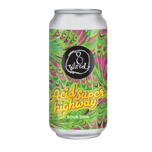 8 Wired Acid Super Highway Sour Double IPA 440ml Can