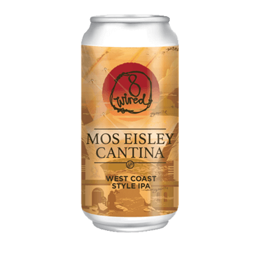8 Wired Mos Eisley Cantina West Coast IPA 440ml Can