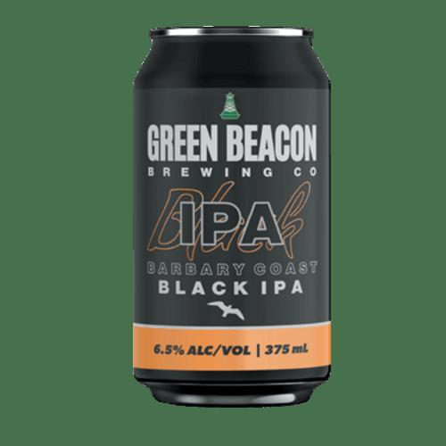 Green Beacon Barbary Coast Black IPA 375ml Can