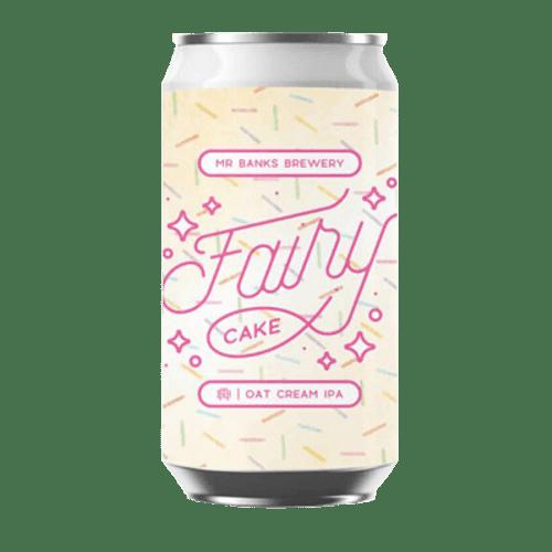 Mr Banks Fairy Cake Oat Cream IPA 355ml Can
