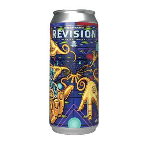 Revision Creative Alternatives Double Hazy IPA 473ml Can