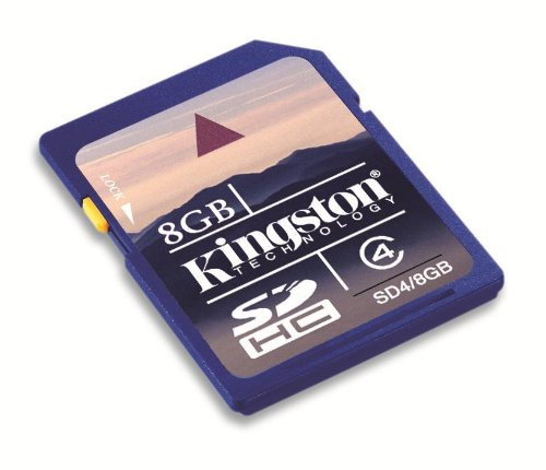 8GB Kingston SD Card