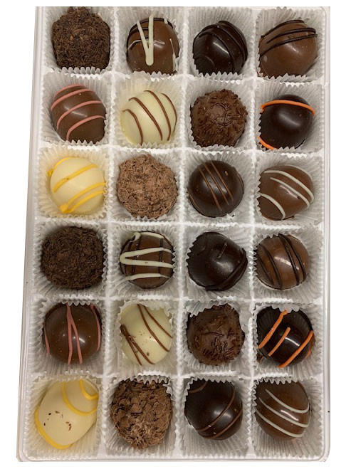 Truffles - Assorted - 24 Pieces